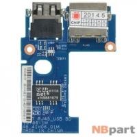 Шлейф / плата Lenovo IdeaPad Z570 / 48.4IH06.01M на USB