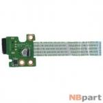 Шлейф / плата HP Pavilion g6-2000 / DAR33TB16C0 REV:C на USB