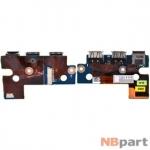 Шлейф / плата Toshiba Satellite A300D / DABD3ATB6D0 REV:D на USB