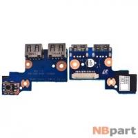Шлейф / плата Samsung NP305E5A / BA92-09366A на USB
