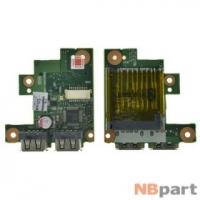 Шлейф / плата Toshiba Satellite L635 / V000240450 на USB