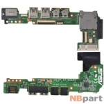 Шлейф / плата Asus Eee PC 1015PEG / 1015P_IO_BOARD REV.1.3G на USB