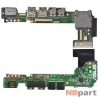 Шлейф / плата Asus Eee PC 1015PEG / 1015P_IO_BOARD REV.1.3G на USB
