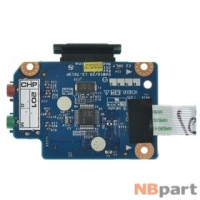 Шлейф / плата Lenovo G560 / PAW10/20 LS-7013P на аудио разъем