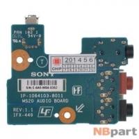 Шлейф / плата Sony VAIO VGN-AR21S / 1P-1064103-8011 REV: 1.1 на аудио разъем