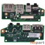 Шлейф / плата Asus N61 / N61VG AUDIO BOARD REV: 1.1 на аудио разъем