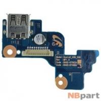 Шлейф / плата Samsung RV511 (NP-RV511-A01) / BA92-07488A на кнопку включения
