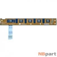 Шлейф / плата Toshiba Satellite L500 / KSWAE LS-4971P REV:1.0 на кнопку включения