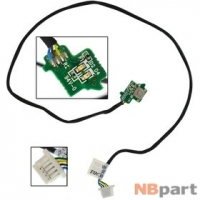 Шлейф / плата Sony VAIO VGN-AW4ZRF/B PCG-8161V / 073-0101-5276_A REV:A на кнопку включения