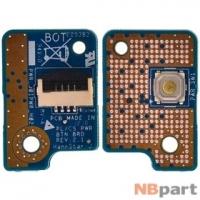 Шлейф / плата Toshiba Satellite C850-D1K / BTN BRD 6L REV:2.1 на кнопку включения
