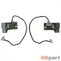 Шлейф / плата ASUS N52DA / N61DA POWER BOARD REV. 2.1 на кнопку включения