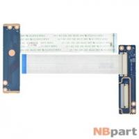 Шлейф / плата DEXP Aquilon O110 (W970TUQ) / 6-71-W9707-D02 на разъем клавиатуры