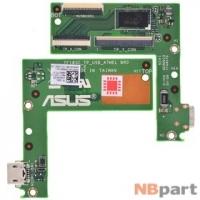 Шлейф / плата ASUS Transformer Pad TF103C (K010) (WIFI) TF103C_TP_USB_ATMEL BRD на тачскрин
