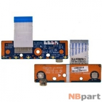 Шлейф / плата Toshiba Satellite L670 / LS-6042P на функциональные кнопки