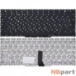 Клавиатура для MacBook Air 11 A1370 (EMC 2393) 2010 черная (Вертикальный Enter)