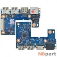 Шлейф / плата Acer Aspire 3810TG / JM31 USB/B A03 6050A2271201 на USB