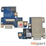 Шлейф / плата Acer Aspire 3810TG / JM31G VGA/B A01 6050A2292401 на разъем питания