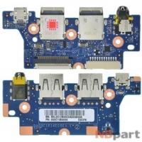 Шлейф / плата HP Chromebook 11 G1 CB2 / DA00C1PI4E0 на разъем питания