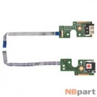 Шлейф / плата Lenovo B590 / 48.4TE02.011 на USB