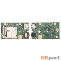Шлейф / плата Lenovo B590 / 48.4TE03.011 на аудио разъем
