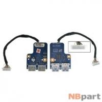 Шлейф / плата Samsung RF510 / BA92-06896A на USB