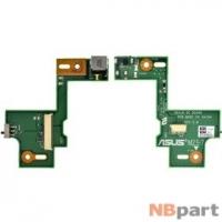 Шлейф / плата Asus N53Jf / N53JN DC BOARD REV 2.0 на разъем питания