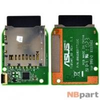 Шлейф / плата Asus Eee PC T101MT / 08G2021TT11C на Card Reader