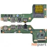 Шлейф / плата Acer Aspire V5-121 / DA0ZHAPI6D0 на разъем питания