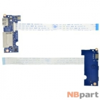 Шлейф / плата DNS Travel (0802290) / M300B_USB_PCB на кнопки включения