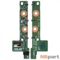Шлейф / плата ASUS Chromebook Flip C100PA / C100P IO BOARD на кнопки включения и громкости