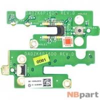 Шлейф / плата Acer Aspire 5739G / DA0ZK6PI6D0 REV:D на кнопки включения
