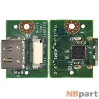 Шлейф / плата DNS Travel (0119113) N13A / NEPTUNE_HDMI_V3.0 на разъем HDMI
