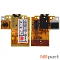 Шлейф / плата Huawei MediaPad T1 8.0 (S8-701U) на аудио разъем / (оригинал)