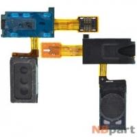 Шлейф / плата Samsung Galaxy Note GT-N7000 на аудио разъем