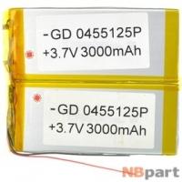 Аккумулятор 4-4,9 mm / 110-114 mm / 120-124 mm / 3000-3499 mAh