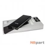 Внешний  аккумулятор10000mAh / 5V / 2,1A / Hoco B16 Metal / черный