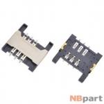 Разъем Mini-Sim 16-17mm x 16-17mm x 1,8mm Lenovo A336