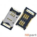 Разъем Mini-Sim 29-30mm x 16-17mm x 1,6mm Nokia N900 KA-105