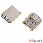 Разъем Nano-Sim 13-14mm x 9-10mm x 1,2mm HTC Desire 826 KA-219