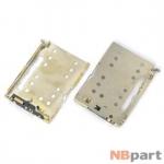 Разъем Nano-Sim 22-23mm x 16-17mm x 1,3mm Meizu MX5 KA-243