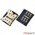 Разъем Nano-Sim 15-16mm x 13-14mm x 1,1mm LG NEXUS 5X H791