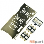 Разъем Nano-Sim+MicroSD 37-38mm x 16-17mm x 2mm Xiaomi Redmi Note 5A