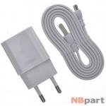 Зарядка USBx2 / 5V / 10W 2A / Remax RP-U14 + кабель MicroUSB