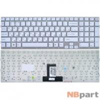 Клавиатура для Sony VAIO VPCEB белая без рамки