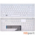 Клавиатура для 3Q Qoo! белая с белой рамкой