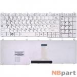 Клавиатура для Toshiba Satellite C650 белая