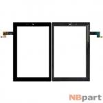 Тачскрин для Lenovo Yoga Tablet 2 10 (1050L) MCF-101-1647-01-V4 черный
