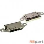 Разъем системный Micro USB 3.0 - Samsung Galaxy S5 (SM-G900FD) (оригинал) / MC-156