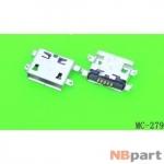 Разъем системный Micro USB - Xiaomi Redmi Note (3G) (оригинал) / MC-279