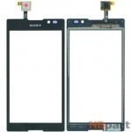 Тачскрин для Sony Xperia C C2305 черный